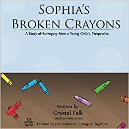 Sophia's Broken Crayons book cover