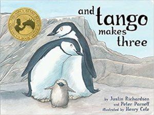 Tangoe makes three book cover